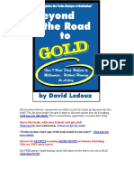Beyond the Road to Gold by David Ledoux