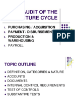 5 - Audit of Purchasing Disbursement Cycle