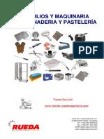 utensilios y Maquinarias para panadería y pastelería.pdf