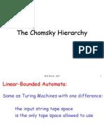 Chomsky Hierarchy