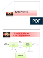 Pmcdsyntax Analysis n Semantic Analysis