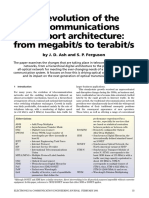 evolution of telecommunications network