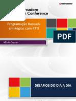 Delphi Conference 2012 - Programação Baseado Em Regras Com RTTI