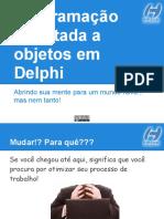 Programação Orientada a Objetos Em Delphi
