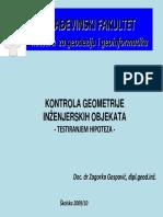 15 Prezentacija Kontrola Geometrije Inženjerskih Objekata
