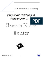 LSS Equity Law Sketch Notes