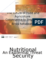 Agriculture's Role in an Age of Abundance