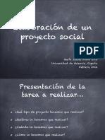 Elaboracixn de Un Proyecto Social