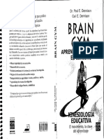 BRAIN GYM Dennison Libro Español