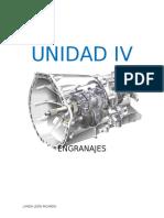 ENGRANAJES - UNIDAD IV