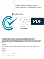 Delphi Assertions