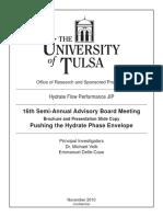 Hydrate Tulsa Study