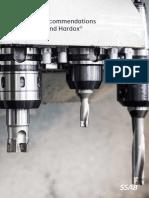 Machining Strenx and Hardox
