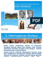 Bentuk-bentuk Keragaman Sosial Dan Budaya Indonesia1 (Keberagaman Budaya)