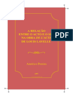 Américo Pereira - A Relação Entre o Acto e o Ser Na Obra de Louis Lavelle