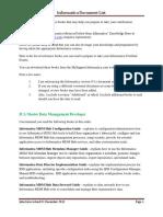 Informatica Certification Prep List