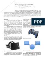 Oculus Rift Virtual Reality Visualization With the Oculus Rift