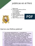 Intro. a Las Políticas Públicas