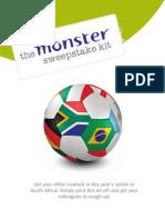 2010 World Cup Sweepstake Kit