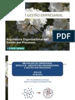 Arquitetura Organizacional e Gestão Por Processos - 2