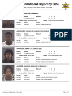 Peoria County Jail Booking Sheet for July 25, 2016
