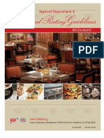 Restaurant Diamondratings Guidelines