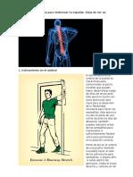 6 Prácticos Ejercicios Para Enderezar Tu Espalda