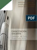 Capacitacion Docente Enero-Julio, 2010