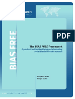The Bias Free Framework Full