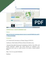 International Climate Agreement 2020