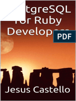 PostgreSQL for Ruby Developers - Jesus Castello