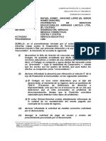 INDECOPI, Colegios, Derecho de igualdad y examenes de admision
