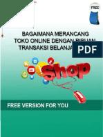 Toko Online Dengan Ribuan Transaksi Belanja