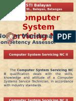 Computer System Servicing NC II