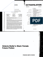 Octavia Butler's Black Female Future Fiction