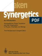 Professor Dr. Dr. h. c. Hermann Haken (Auth.) Synergetics- An Introduction