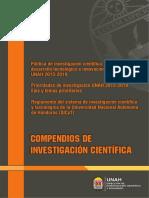 Compendios de Investigacion Cientifica UNAH