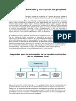 Identificación, Definición y Descripción Del Problema en El Proyecto Datos Basicos
