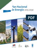 Plan Nacional de Energia Costa_rica