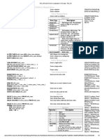 SQL in one page