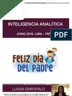 Inteligencia Analítica  Sesión 01