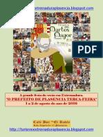 Martes Mayor Plasencia 2016.Portugues