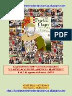 Martes Mayor Plasencia 2016-Italiano