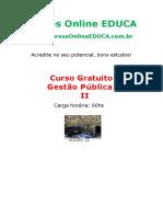 Curso Gestao Publica II- EDC