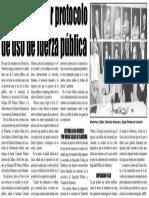 22-07-16 Acuerdan crear protocolo de uso de fuerza pública