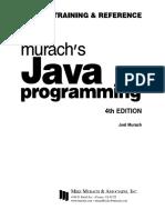 Murach Java Programming 4th Edition