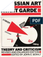 BOWLT, J. E. Russian Art of the Avant Garde Theory and Criticism 1902 1934
