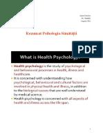 Psihologia Sănătătii