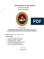 PROBLEMA DE FORMALIZACION Y CRECIMIENTO DE LAS MYPES MANUFACTURERAS DEL SECTOR TEXTIL DEL CERCADO DE LA CIUDAD DE AREQUIPA