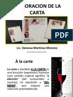 Elaboracion de La Carta